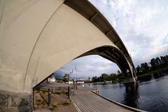 Leksand bridge (Håkan Dahlström) Tags: 2018 bridge dalarna leksand photography river sweden österdalälven dalarnaslän xt1 f10 1500sek 8mm uncropped 19922082018174536 strandvägen31 se