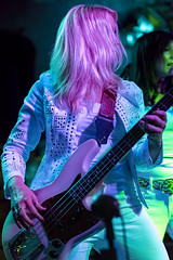 Holly West (acase1968) Tags: holly west zepparella howies front street medford oregon led zeppelin cover band tribute all female bassist bass blonde nikon d750 nikkor 85mm f18g howiees
