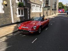 1971 Jaguar E Type V12 5.3Litre & manual gear box (mangopulp2008) Tags: 1971 jaguar e type v12 53litre manual gear box