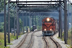 S Curve Under Wire (csx7661) Tags: css train freight railfan railroad photography nikon southshore nictd wire railroading indiana ogdendunes