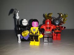 DC figs 10: evil Lanterns (brickpix) Tags: lego dc dcfigs dccomics villains nekron sinestro atrocitus bleez superheroes green lantern figs minifigures