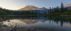 Mt Rainier at Sunset. (Mt Rainier NP, WA) (Sveta Imnadze) Tags: nature mtrainiernp wa sunset reflection