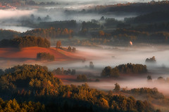 The Miracle of Midsummer. (Bonnie And Clyde Creative Images) Tags: summer sunrise poland europe mist mountains canon