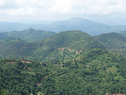 Et ici, une vue depuis le point le plus haut du village.