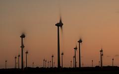 Wind turbine (muman71) Tags: dscf1521 windpark ostfriesland fuji 2018 sonnenuntergang xt2 20sec langzeitbelichtung f14 80mm iso200 windrad küste nordsee