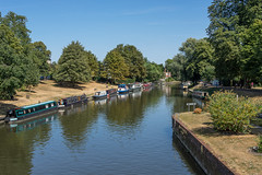 River Cam, Cambridge (Ken Barley) Tags: cambridge drought jesuslock rivercam