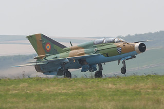 176, Mikoyan Gurewitsch MiG-21 Lancer B Romania Air Force @ Campia Turzii LRCT