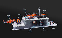 Arctic Display (gid617) Tags: lego arctic display sets