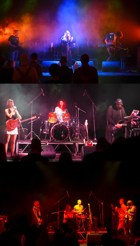 Chkbns, AV Orchestra, Bananafish, Roots in Fever @ Opera, St Petersburg, Russia, 02.09.2018
