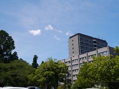Rising to the sky (しまむー) Tags: panasonic lumix dmcgx1 gx1 g 20mm f17 asph 東北大学 オープンキャンパス tohoku university tour