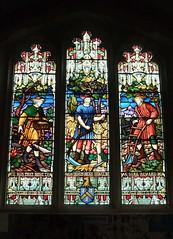 St. Mary's Church, Leigh, Kent (Living in Dorset) Tags: window stainedglasswindow churchwindow church stmaryschurch leigh kent england uk gb edwardgower 1857
