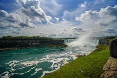 Niagara Falls - Canada Falls (AncasterZ) Tags: worldwonder waterfalls niagarafalls clouds laowa15mmf2fe