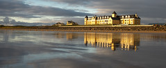 Sand House Hotel 2018. (Gord McKenna) Tags: this modern seaside hotel donegal ireland has wonderful beach that provides nice reflections tide goes out gordmckenna gord mckenna sand house castle refleaction sunset