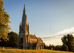 St Mary's Church, Studley Royal Deer Park. [Explore 11 09 2018] (urfnick) Tags: ripon england unitedkingdom gb nationaltrust church building sunrise park