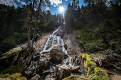 Wasserfall in Hintertux (Peter Goll thx for +8.000.000 views) Tags: tux tirol österreich at hintertux wasserfall waterfall weitwinkel nikon nikkor d850 alpen alps mountain berge natur nature sonne sun gegenlicht backlight