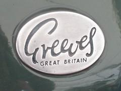 575 Greeves (Motorcycles) Badge - Brief History (robertknight16) Tags: greeves british motorcycle motobike scrambler motocross trials invacar badge badges automobilia brooklands