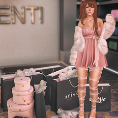 🍎 Einkaufen (Apple aka Ossia) Tags: maitreya genus ayashi just because justbecause villena reign baguette ariskea cosmic dust seul redhead ginger freckles secondlife second life sl blogger blogging blog photography photograph photoshop ps portrait pink shopping store rich fur dress pretty fun aulovely au lovely event