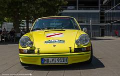 1970 Porsche 911. (andreasheinrich) Tags: heidelberghistoric oldtimerrally historiccar germancar porscheag porsche911 germany badenwürttemberg neckarsulm july deutschland historischesfahrzeug deutschesfahrzeug nikond7000