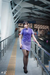 DSC_9927 (kueichi) Tags: 人 人像 戶外 空姐 制服 米倉