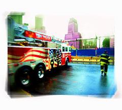 Pray for Peace ... (daystar297) Tags: nyc worldtradecenter twintowers 911 september11th groundzero lowermanhattan newyorkcity fire firemen firehouse firetruck