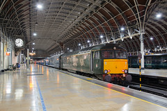 night train to the west (daveymills37886) Tags: gwr 57604 london paddington class 57 576