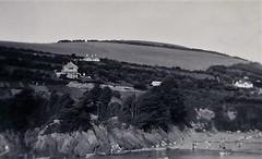Hangman Hills Combe Martin Devon 1950 (Bury Gardener) Tags: bw blackandwhite oldies old vintage snaps 1950s 1950 england devon uk britain