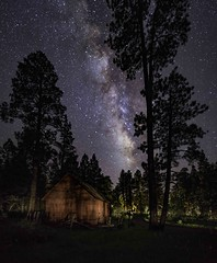 Los Burros Campground S (svubetcha) Tags: stars space southwest sky shack galaxy night universe arizona astrophotography astrophotos astrophoto landscape astro