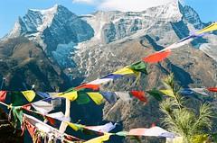 8 (Benrightpaul) Tags: nepal prayer flags 35mm af35ml