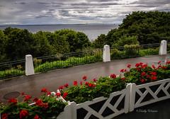 From the Veranda - Grand Hotel - Macinac Island (kweaver2) Tags: kathyweaver mackinacisland mi lakehuron michigan grandhotel