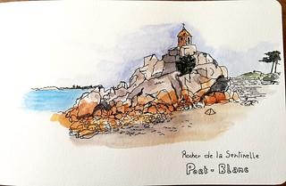 Rocher de la Sentinelle Port-Blanc