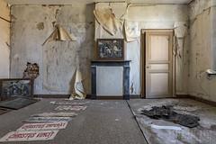 le presbytère-0015 (Under The Dust) Tags: urbex abandoned christian presbytere presbytery curé priest
