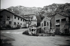l'ancien monde (asketoner) Tags: houses abandoned factory marseille france mountains night street