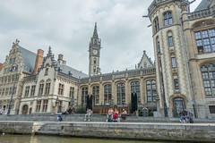Ghent, Belgium-01768 (gsegelken) Tags: belgium ghent vantagetravel canal