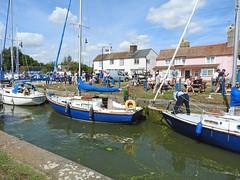 The lock at Heybridge Basin, Essex (Linda 2409) Tags: boat yacht lock cottage canal