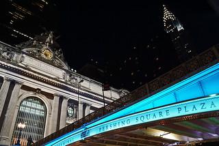 Grand Central Terminal, Chrysler Building and Park Avenue Viaduct , Manhattan