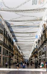 Calle Marqués de Larios (Caroline Groneberg) Tags: spanien malaga andalusien stadt architektur