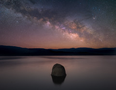 Milkyway over Shaver Lake (RyanLunaPhotography) Tags:
