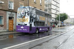 EV 61 Hawkins Street 26/08/18 (Csalem's Lot) Tags: dublin bus dublinbus enviro400 ev61 aussie aoa hawkinsstreet volvo ev 150