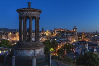 Scotland - Edinburgh Blue Hour