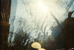 Budapesten tavaly nyáron (Moesko Photography) Tags: analogue smena8m budapest hungary street abstract ambient sky sunshine afternoon trees