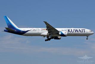 9K-AOK B77W KUWAIT AIRLINES
