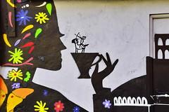 Street Art, Malicious Coffee (gerard eder) Tags: world travel reise viajes europa europe españa spain spanien valencia art arte städte stadtlandschaft street streetlife streetart city ciudades cityscape cityview urban urbanlife urbanview graffiti outdoor