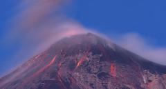 Fuego Volcano (neritron) Tags: pãºrpura fuego volcano volcanoe vulcano eruption lava red sunrise blue hour color colorful image landscape guatemala alotenango nikon d750