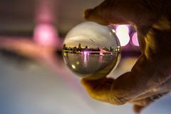 """Puente de la Mujer ( """"Woman's Bridge"""") crystal ball (dgoldenberg52) Tags: bridge buenos aires argentina womens puente de la mujer"""