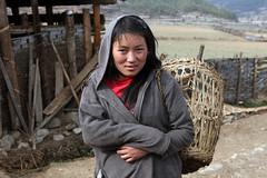VILLAGE GIRL, BHUTAN (dayvmac) Tags: bhutan portrait people villagelife himalayas