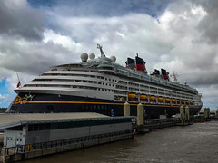 Disney magic cruise liner. (David JP64) Tags: disney magic liverpool