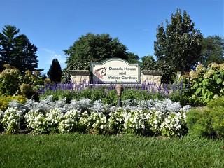 Wheaton, IL, Danada Forest Preserve, Danada House Sign