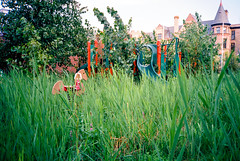 181200-R1-033-15 (elsuperbob) Tags: detroit michigan abandoned emptyspaces playground forgotten overgrown olympusxa fujiflm superiaxtra400 fujifilmsuperiaxtra400