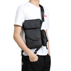 Men Oxford Waterproof Waist Pack Fanny Pack Bag Outdoor Sling Bag Crossbody Bag (1207581) #Banggood (SuperDeals.BG) Tags: superdeals banggood bags shoes men oxford waterproof waist pack fanny bag outdoor sling crossbody 1207581