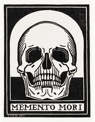 Memento mori (1916) by Julie de Graag (1877-1924). Original from the Rijks Museum. Digitally enhanced by rawpixel. (Free Public Domain Illustrations by rawpixel) Tags: antique artwork bony death drawing head human illustrated illustration illustrator juliedegraag mementomori mortality old skull theory vintage woodcut